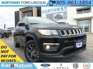 2018 Jeep Compass North | NAV | LEATHER | REAR CAMERA |