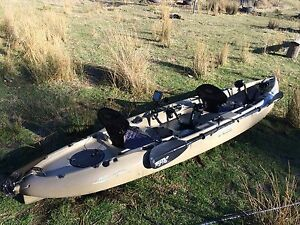Hobie mirage tandem outfitter fishing kayak Fingal Break ODay Area Preview