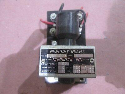 USED Mercury Relay BFT-021 Durakool Inc. 120V 10 AMP AC
