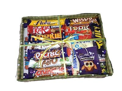 FATHER'S DAY CADBURY'S NESTLE CHOCOLATE SWEETS HAMPER GIFT PRESENT