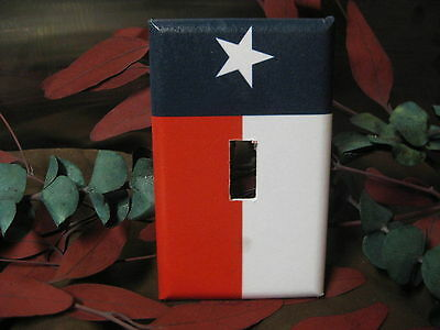 Flag Switch (Texas Flag Light Switch Wall Outlet Plate Cover #1 - Variations )