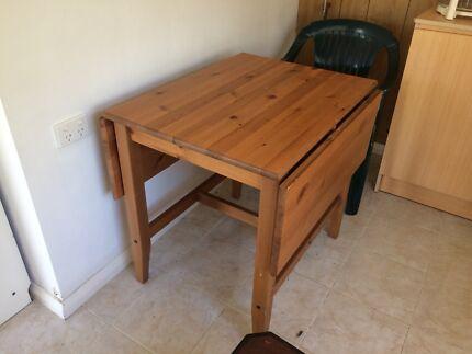 Ikea utby bar table dining tables gumtree australia north sydney ikea foldable wooden table watchthetrailerfo