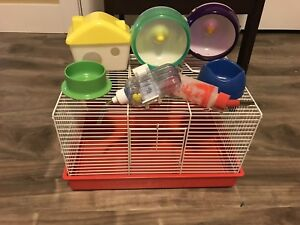 Cage and accessories