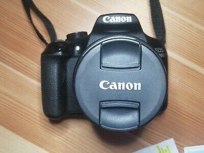 Canon EOS 1300D 18.0MP Digitalkamera + EF-S 18-55mm III + Tasche/ Zubehörpaket