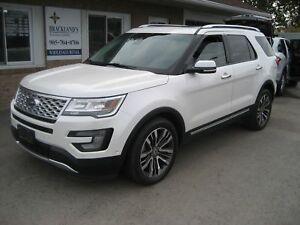 2016 Ford Explorer Platinum LOADED 7 RIDER