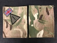 BRITISH ARMY SURPLUS 8th FORCE ENGINEER BRIGADE MTP TRF PATCH PANEL,SMOCK,UBACS