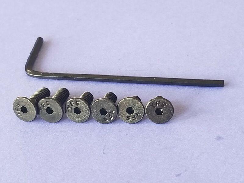 Trijicon RMR / SRO - Holosun, Hex screws for ZEV & Brownells Glock Slides.