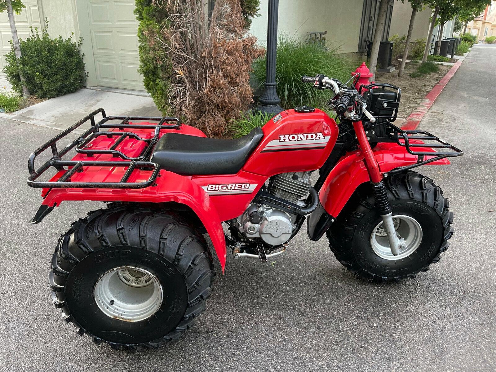 Honda Big Red ATC250ES RARE Classic ATV
