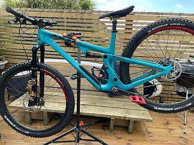 yeti mountain bike SB100 large Carbon full suspension