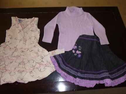 Girls Size 2 pack of clothing - great condition Cherrybrook Hornsby Area Preview