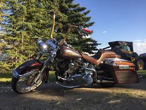 2013 softail deluxe full custom