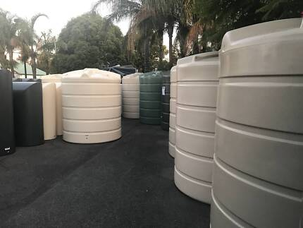 TANK CLEARANCE SALE! Poly Water Tanks, Rainwater, Shed, Pumps