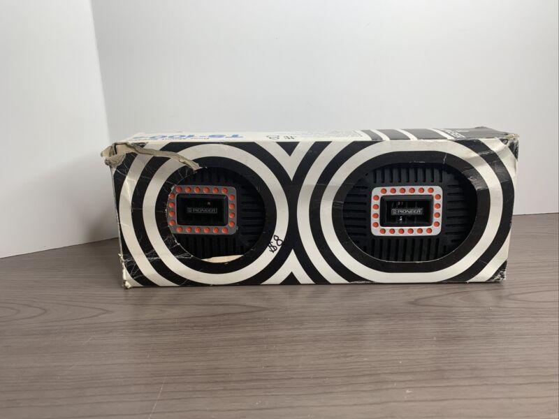 Brand New Pioneer TS-100 TS-100-5 Vintage Hifi Full Range Door Car Speakers NOS