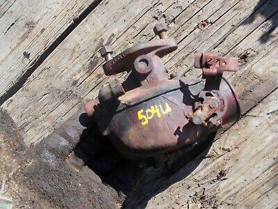 International 504 Utility Ih Tractor Gas Marvel Schebler Carburetor Assembly