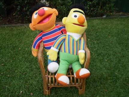 Sesame Street's Bert and Ernie Soft Toys