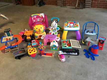 Assorted kids toys great condition