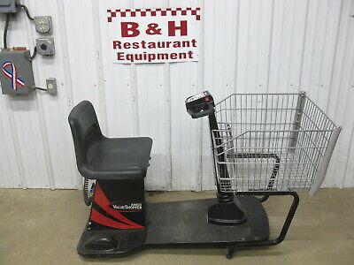 Amigo Value Shopper Motorized Electric Shopping Cart W Standard Basket Charger