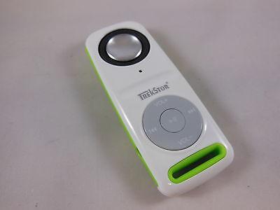 TrekStor i.Beat GhettoBlaster mini MP3-Player mit micro SD Karten Slot weiß-grün ()