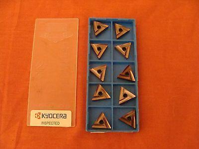 Nos Kyocera Tngg160404r-25r Tngg331r-25r Pr930 Carbide Inserts Lot Of 10