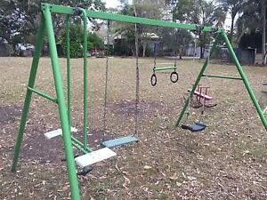Strong Swing set with 4 swings and slide Thagoona Ipswich City Preview