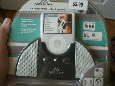 Brand New MERKURY Innovation Universal Portable Dock Speaker for Ipod/MP3