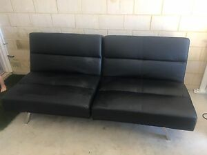 Leather sofa lounge Banksia Grove Wanneroo Area Preview