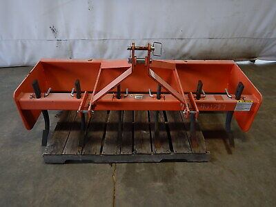 Weathered Land Pride Bb1572 3-point Hitch Box Blade
