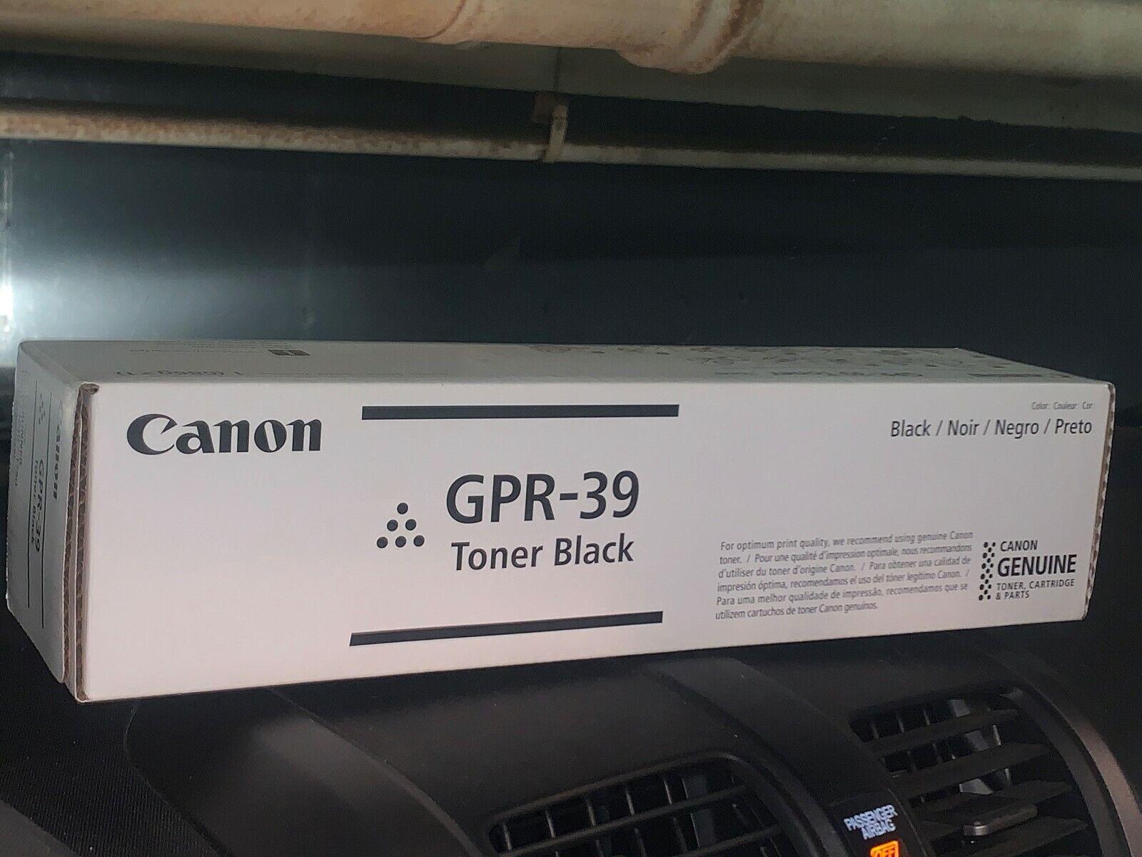 Canon CNMGPR39 Toner Cartridge, Black, Laser, 15100 Page, 1