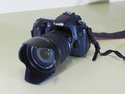 Canon 60D + premium (15-85) lens in excellent condition