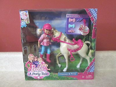 Barbie Doll New Her Sisters A Pony Tale Chelsea Pack Set Sealed 2013 OOP Rare
