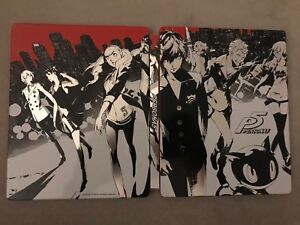 Used Persona 5 steelbook PS4