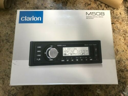 CLARION M508 Marine Digital Media Receiver (BRAND NEW) FREE SHIPPING