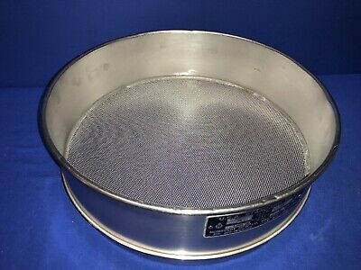 Humboldt No. 20 Usa Standard Testing Sieve Stainless Steel 12dia X 3-14deep