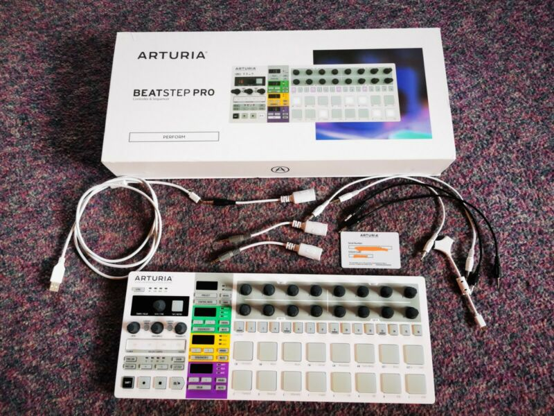 Arturia  Beatstep Pro Hardware Midi CV controller And Sequencer Used