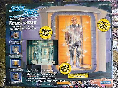 NRFB~STAR TREK~1993~TRANSPORTER~THE NEXT GENERATION~NEVER USED!