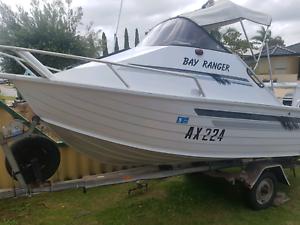 Motor boat 50hp four stroke 237 hours