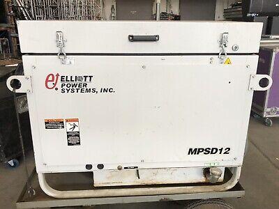 Elliott Magnetek 12kw Diesel Generator