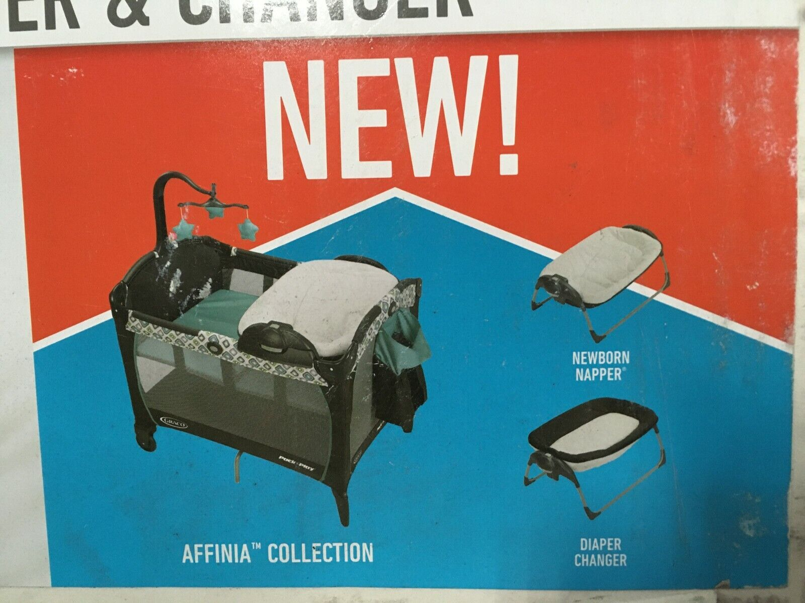 Graco Pack /'n Play Portable Napper and Changer Playard Affinia