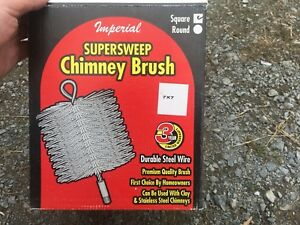 Chimney brush and rods