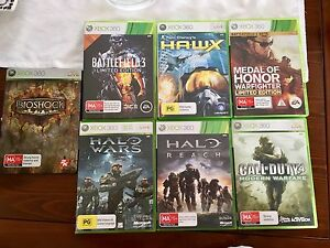Xbox 360 Games x 7 Burton Salisbury Area Preview