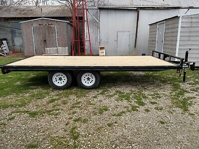 New 2019- 96x16 Atv - Utility Haul Deckover Trailer. 7000 Gvwr