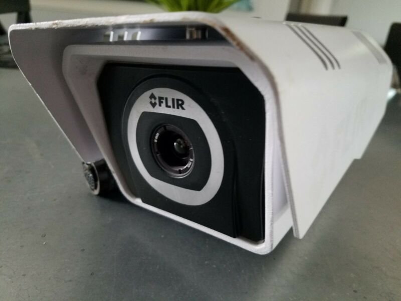 FLIR Fc thermal Camera FC-348 9mm exterior security camera