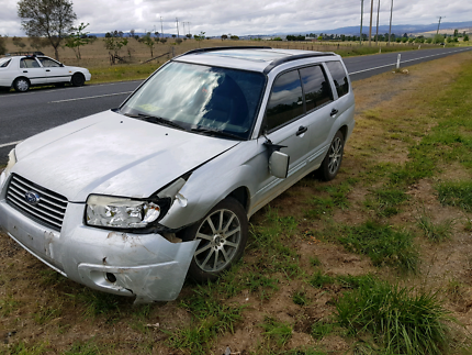 06 forester luxury x GOOD FOR PARTS + RUNNING ENGINE