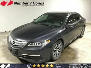 2015 Acura TLX Tech| Leather, Navi, Backup Cam, Tint!