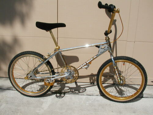 BMX 1983 DIAMOND BACK II SILVER STREAK Vintage Old School RARE Chrome GOLD ACS