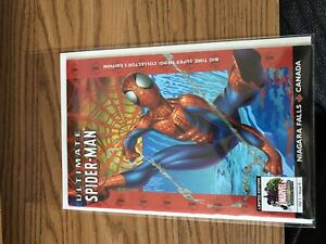 Ultimate Spider Man Niagara Falls limited edition comic