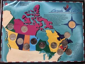 "Royal Canadian Mint Coin Set 1992 ""Canada 125"""