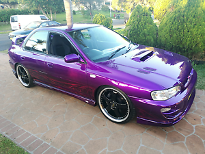 99 wrx sti highly modified show pony Blacktown Blacktown Area Preview