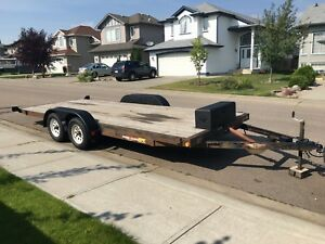 2011 20' H&H Tilt Trailer TAKING OFFERS