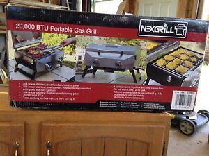 20,000 BTU gas grill